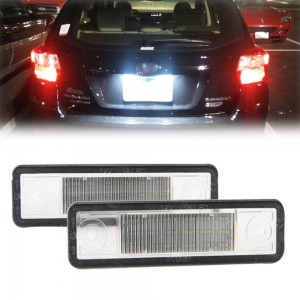 2x LED License Number Plate Lights Lamp For Opel Astra Corsa B Omega A B Vectra