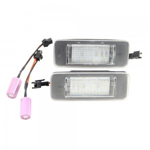 2x Canbus Bulbs Led License Plate Lights for Opel Astra J Estate 10~ Zafira C 12