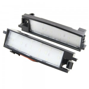18SMD Led License Plate Light Car Tail Lamp Direct Fit for Toyota Auris 2014 RAV
