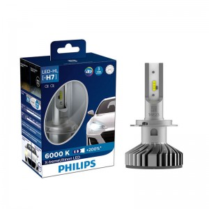 Philips H7 12985 BW X2 X-treme Ultinon LED Car Headlight 6000K Cool White Light