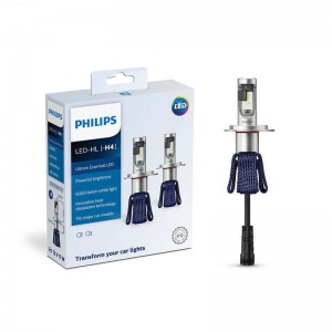 Philips H4 9003 11342UEX2 Ultinon Essential LED Car Hi/lo Beam 6000K White Light