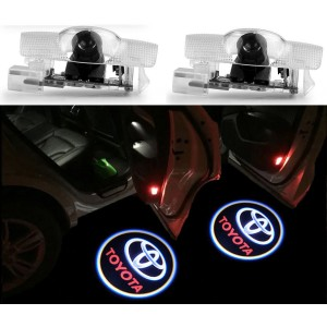 2x Ghost LED Door Step Courtesy Shadow Laser Light Toyota Highlander 4Runner